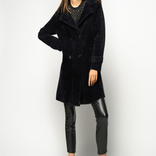 pinko-cappotto-doppiopetto-in faux fur